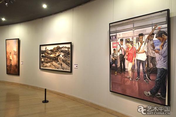 """""""第六届全国青年美术作品展览""""中国美术馆开幕图片"""