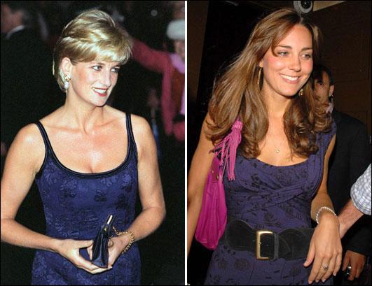 英国准王妃和戴安娜相似倩影