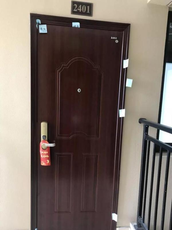 卧室房门锁内部结构图
