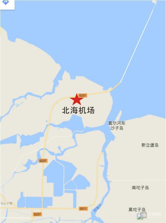 滨州将在北海新区新建机场(组图)